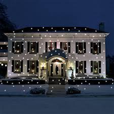 falling snowflake christmas lights light flurries led weatherproof falling snowflakes light projector
