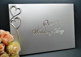 wedding wish book wedding silver our wedding day guest book wedding wish