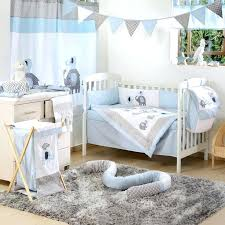 Elephant Crib Bedding Sets Astounding Baby Blue Bedding Blue Elephant Crib Collection 4 Crib