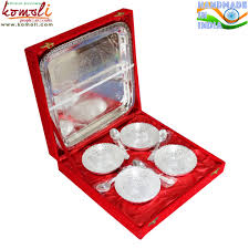 Indian Wedding Favors From India Flower Silver Plated Gifts Brass Bowl Indian Wedding Favors