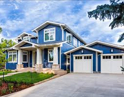 modern blue and white best house paint colors exterior that can be modern blue and white best house paint colors exterior that can be decor with white garage door can add the modern touch inside the modern house design