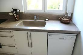 faire un plan de travail cuisine plan de travail cuisine en beton cire plan de travail beton ductal