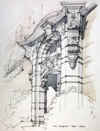 by yohji kato street view pinterest sketches watercolor and