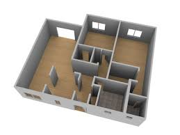 make a floor plan of your house create a 3d floor plan model from an architectural schematic in