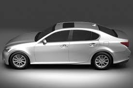 white lexus 2013 gs 3d 3ds
