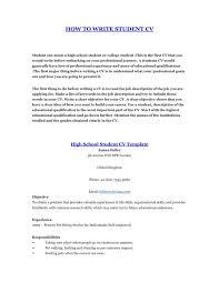 curriculum vitae template leaver resume how to write a student resume 2 cv template prepare curriculum