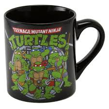 teenage mutant ninja turtles coffee mug cartoon character mugs