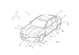 land rover discovery drawing jaguar land rover is the latest to patent an active aero system
