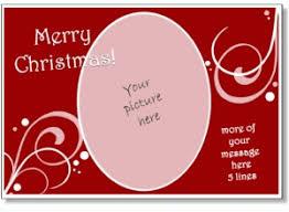 free printable photo christmas card templates business template