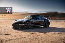 black porsche gt3 2016 porsche 911 gt3 rs looks stunning with hre wheels gtspirit