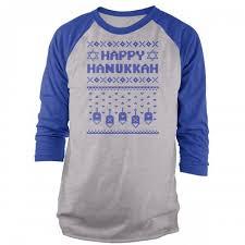 hanukkah shirts christmas hanukkah raglans vine fresh tees usa vine fresh tees