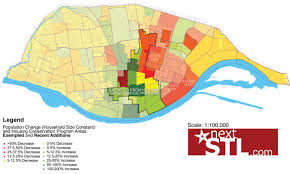 Map St Louis The 2010 Census Pt Ii The State Of St Louis Nextstl