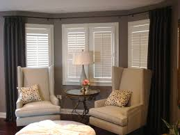 Window Rods For Curtains Charming Rods For Bay Windows Decorating With How To Bay Windows