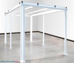 Steel Canopy Frame by Frame Kit 304 Stainless Steel For Softwall Modular Cleanroom