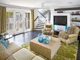 decorating ideas for beach themed living room cottage rooms