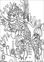 shark tale coloring pages coloring book