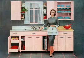 kicthen design throughout the decades 1920s to 1950s