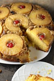 pineapple upside down cake persnickety plates