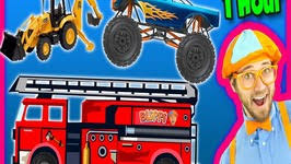 videos kids 1 hour compilation fire trucks monster trucks