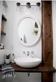 Bathroom Sink Tile Beautiful Farmhouse Bathroom Remodel From Small Closet