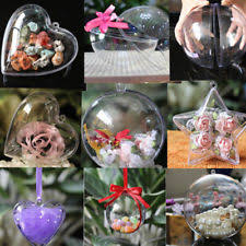 clear craft ornaments ebay