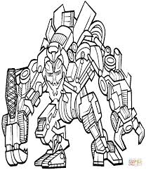 Transformers Coloring Pages Free Magnificent Transformer Transformer Color Page