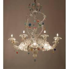 1950s Chandelier Italian Venetian Murano Glass Ca U0027rezzonico Chandelier Seguso 1950s