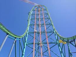 Six Flags Jackson Theme Park Overload Final Track Piece Of Zumanjaro Drop Of Doom