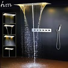 Bathroom Shower Set Bathroom Shower Set Accessories Water Mixer Led Ceiling Shower