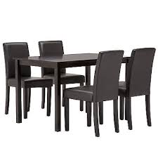 breakfast table with 4 chairs 5 piece dining table set 4 chairs wood kitchen dinette room