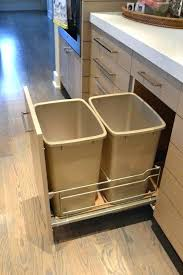 trash can under sink kitchen garbage cans stylish decoration