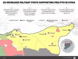 map us army bases what is the name of the us army base in syria quora