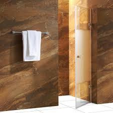 vigo tempo 28 5 in x 70 625 in frameless pivot shower door with