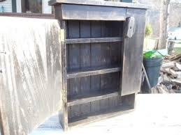 primitive rustic bathroom medicine cabinets by rivergirl