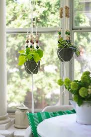 macrame beaded hanging planter u0026 ace gift card giveaway