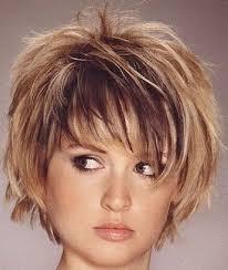 short haircuts for round faces curly hair short hairstyles for round faces and thick hair women medium haircut