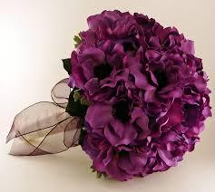 Violet Wedding Flowers - bold purple purple wedding bouquets flowers wedding photos