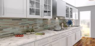 Painting Glass Tile Backsplash Fiorentinoscucinacom - Linear tile backsplash