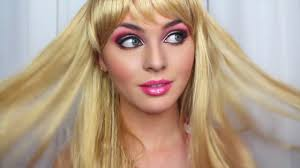 barbie makeup tutorial u0026 costume idea halloween new jackie wyers