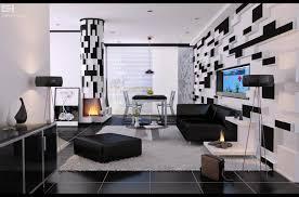 Living Room Decor Black Leather Sofa Living Room White Leather Sofa Blue Cushions Blue Sofa White