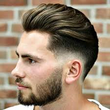 feathered brush back hair 51 cool short haircuts and hairstyles for men low fade dope
