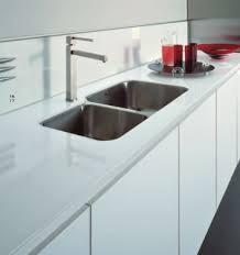 plan de travail cuisine verre plan de travail effet verre blanc maison design bahbe com