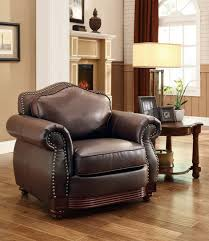 Chestnut Leather Sofa Homelegance Midwood Bonded Leather Sofa Dark Brown 9616brw 3 At