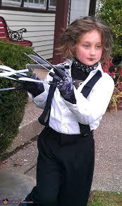 Edward Scissorhands Costume Edward Scissorhands Homemade Costume For A Boy