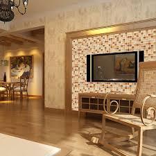 Cheap Bathroom Tile Glass Conch Tile Sheets Kitchen Backsplash Cheap Brown Crystal