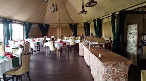 Crater Lake Lodge Dining Room by Lake Ndutu Luxury Tented Camp The Best Luxury Camp Established