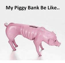 His And Hers Piggy Bank 25 Best Memes About Piggy Bank Piggy Bank Memes