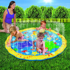 Inflatable Kids Pool New Baby Sprinkle Splash Play Mat Shallow Pool Water Toy Kid Pet