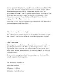 Fine Dining Server Resume Sample by Seminar Report On Quantum Computing