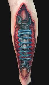 coilover skin rip tattoo by jamie lee parker tattoonow